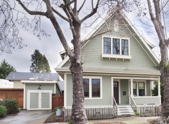 509 C Street, Petaluma (Photo Courtesy of