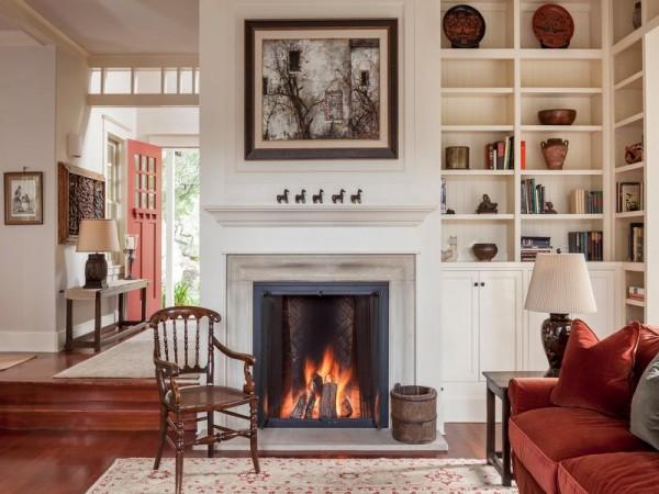 Sonoma Mountain Fireplace