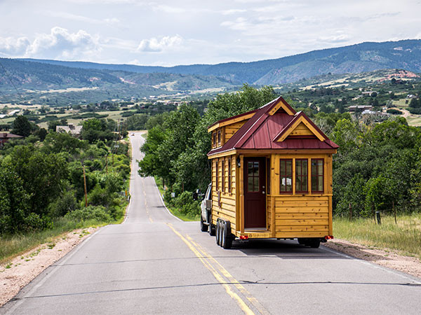 Tiny Home On Wheels (Courtesy Of Tumbleweed Houses)