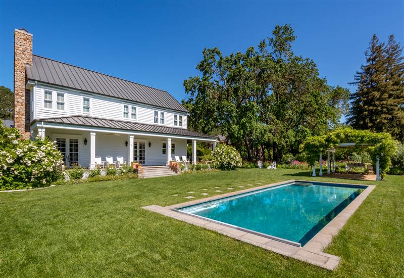 Sonoma County Shabby Chic Farmhouse Offered At 4 9m In Glen Ellen Real Sonoma