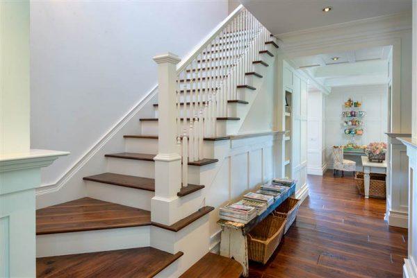 Main stairway.
