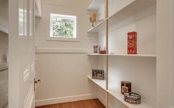 Kitchen pantry.