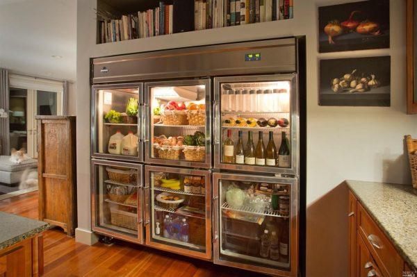 Industrial refrigerator.