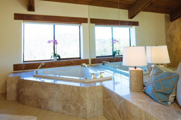 Master bathroom.