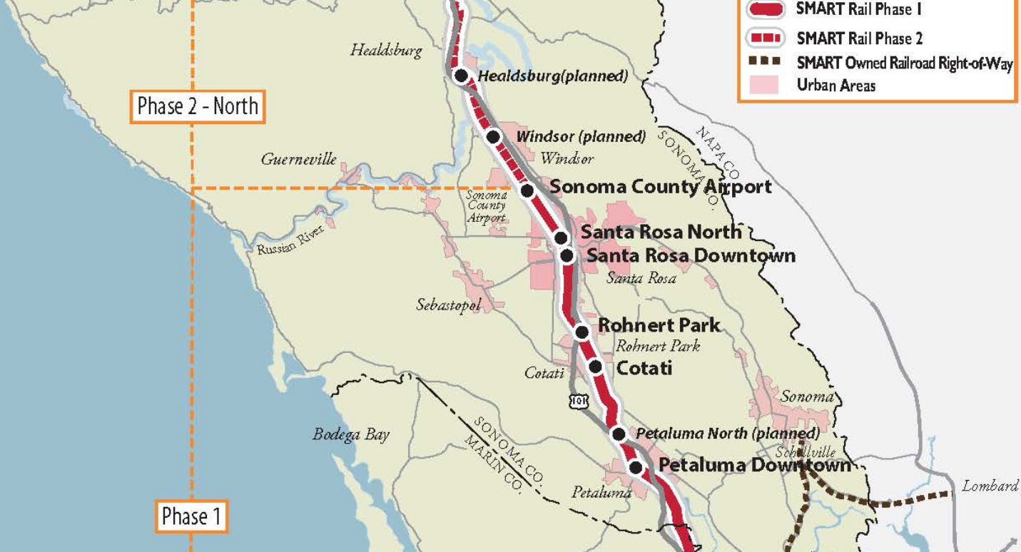 ready   rails  homes  close  planned smart train stations real sonoma