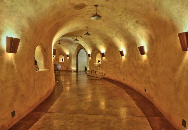 Cellar entry.