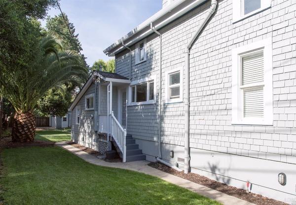 Side of home. (Image via Redwood Property Group)