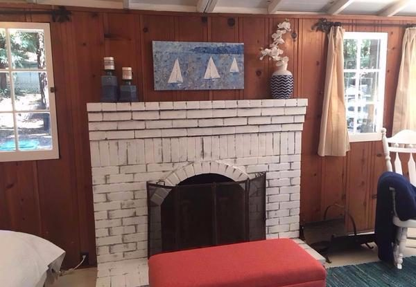 Fireplace. (Photo courtesy of Coldwell Banker)