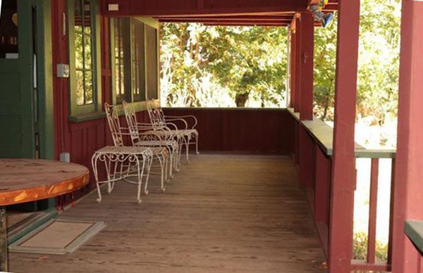 Front porch. (Photo courtesy of Pacific Union International)