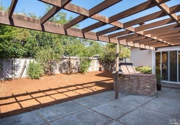 Backyard. (Image courtesy of Pacific Union International)