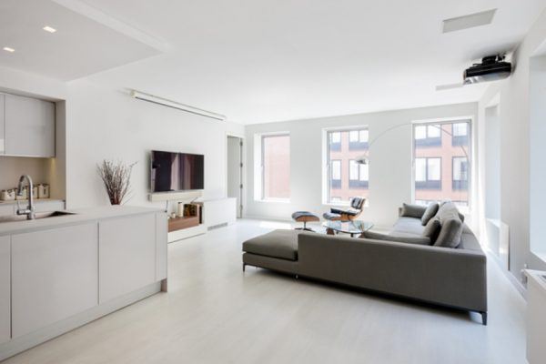 The interior of Kaepernick's new TriBeCa condo in NYC. (Photo courtesy of mansionglobal.com)