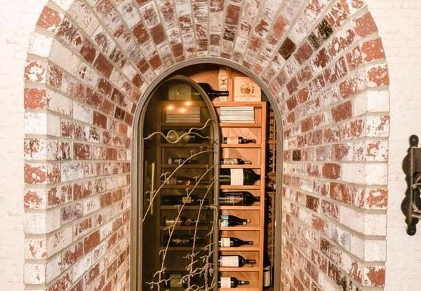 Wine cellar entry.