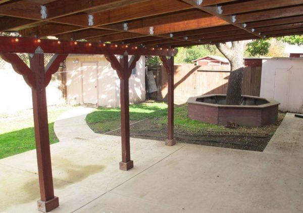 Yard. (Photo courtesy of Timely Property Management)