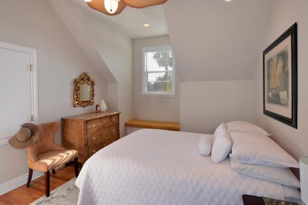 Upstairs guest room.