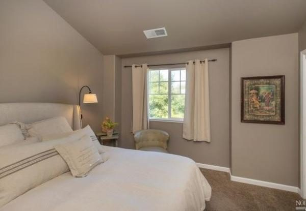 Master bedroom. (Photo courtesy of Pacific Union International)
