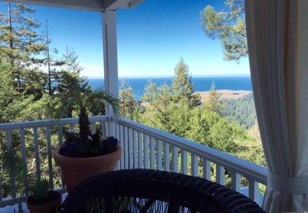 View of the ocean from the house.(Photo courtesy of Coldwell Banker Residential Brokerage)