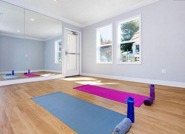 Yoga studio. (Photo courtesy of Alliance Residential Company)