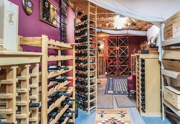 Wine cellar. (Photo courtesy of Vanguard Properties)