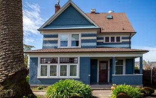 561 Stewart Street, Fort Bragg - $1,095,000 6 beds, 5.5 baths, 4,188 square feet. Year built: 1905. Front of house. (Photo courtesy of Healdsburg Sotheby's International Realty) You can't miss the Craftsman style in the staggered, unique shingle work on the front of the home. Scroll through to se what this home looks like from the side.