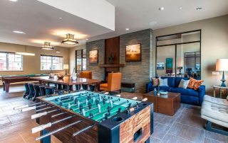 Community room. (Photo courtesy of Alliance Residential Company) There is no possible way you can claim to be bored if you lived here. There's a pool,spa, and BBQ area outside, as well. Scroll through for the workout room...