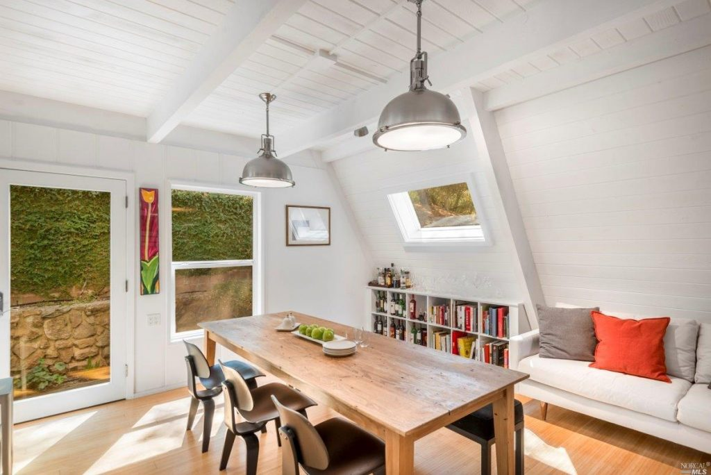 2.3M Kenwood A-frame Feels Like A Ski Chalet in Wine Country | Real ...