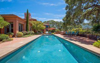 Glen Ellen Tuscany Villa pool