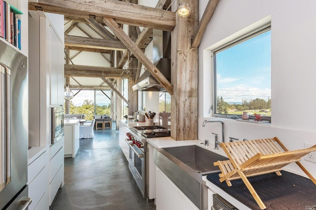 Sleek Stylish And Completely Contemporary The Barn House At 5810 Blank Road In Sebastopol Is A Spacious Architectural Wonder Nestled Heart Of Western